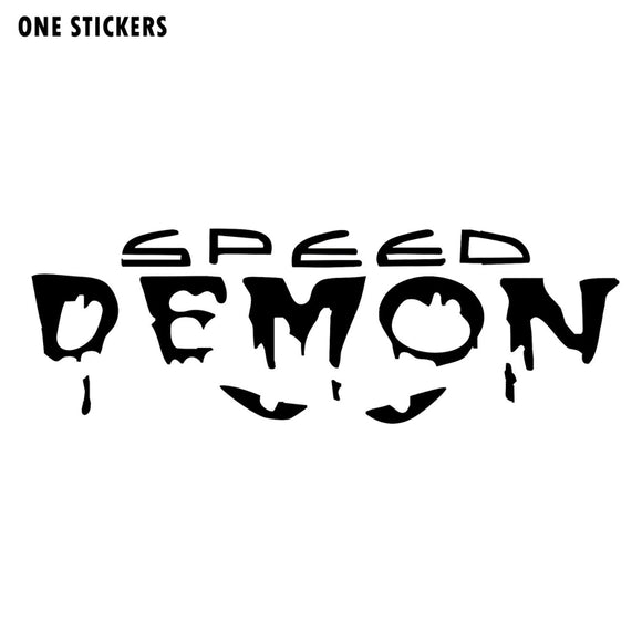 12.7cm*4m Speed Demon Fashion Vinyl Decor Car Stickers Decals S4-0806