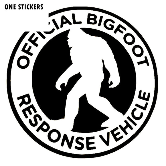 16CMX16CM Fashion Big Foot Response Team Vinyl Decal Car Sticker ZOMBIE Car-styling Accessories S8-1173
