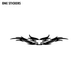 20CM*3.6CM Car Racing Eagle Wings Flames Fashion Black/Silver Vinyl Sticker Exquisite Decal C15-0906