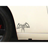17cm*13.1cm A predator At Night Bats Race Distance Vinyl Meticulous Light Car Sticker Decal Pattern C18-0877