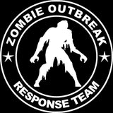 15*15CM ZOMBIE OUTBREAK RESPONSE TEAM Funny Black/Silver Vinyl Decals Car Sticker S8-1287