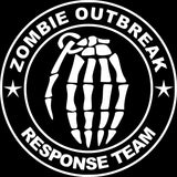 15*15CM ZOMBIE OUTBREAK RESPONSE TEAM Funny Black/Silver Vinyl Decals Car Sticker S8-1290