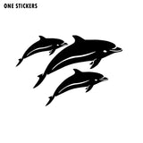16.7cm*11.2cm One In A Thousand Little And Dainty Fashion Black/Silver Vinyl Car Sticker Decal C18-0178