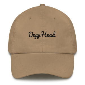"""DEPPHEAD"" Dad hat"