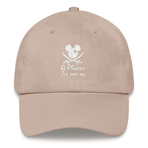 """A Pirates Life For Me"" Dad hat"