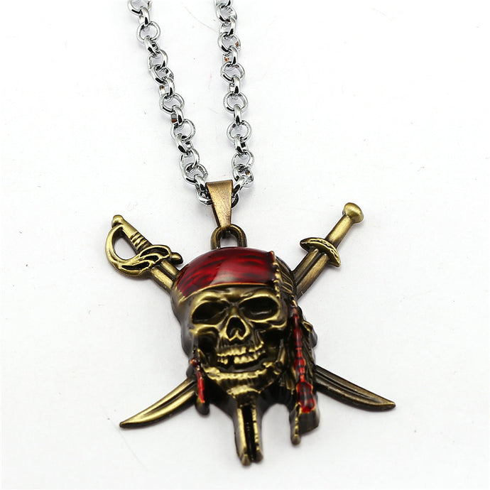 The Pirate Skull - Necklace
