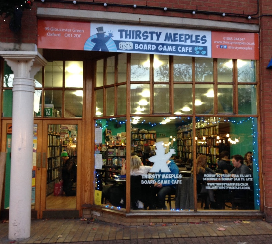 Games Library Oxford - Thirsty Meeples