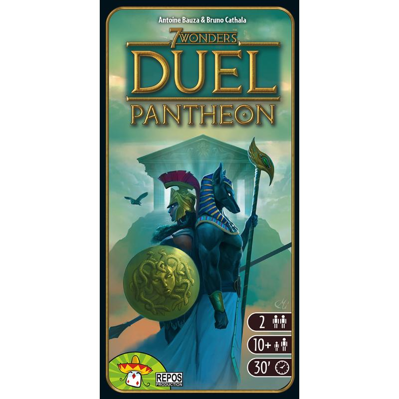 7 Wonders: Duel – Pantheon - Thirsty Meeples