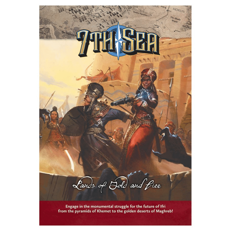 7th Sea RPG: Cities of Faith (PRE-ORDER)
