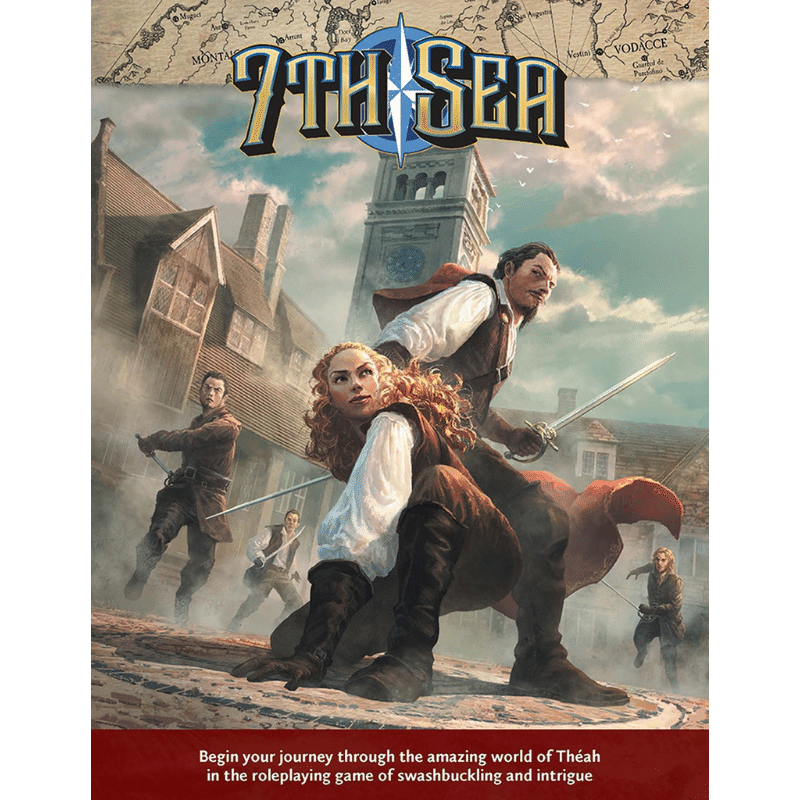 7th Sea RPG: Core Rulebook (2nd Edition)