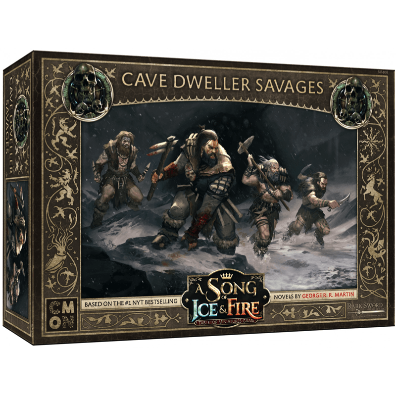 A Song of Ice & Fire: Tabletop Miniatures Game – Free Folk Cave Dweller Savages