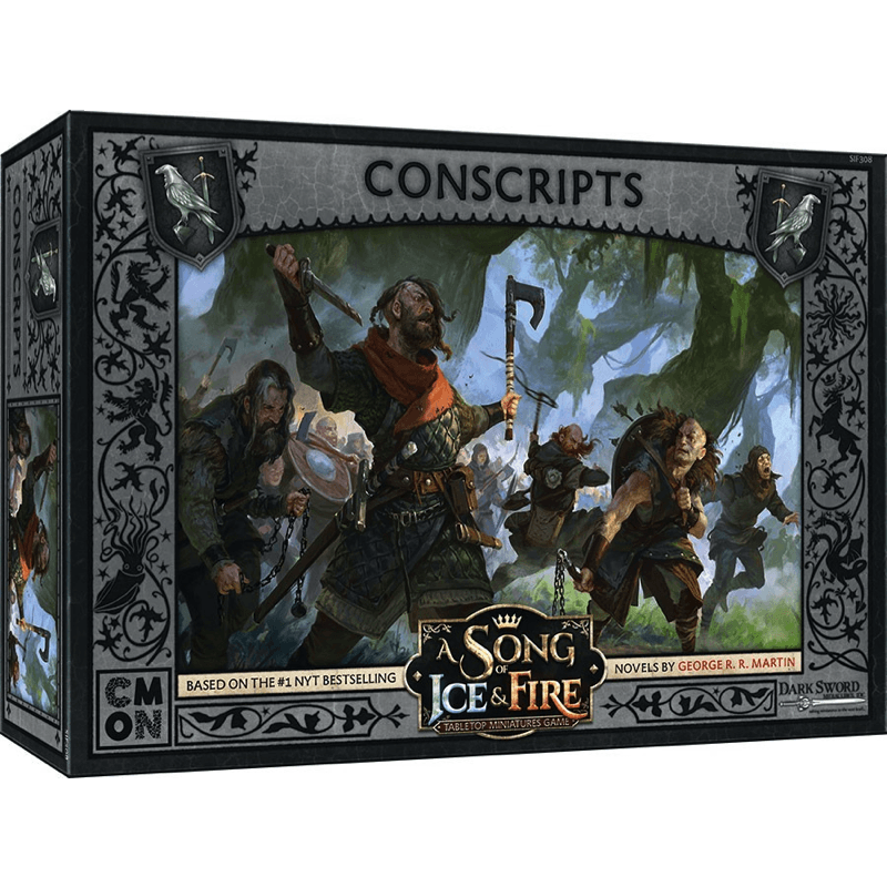 A Song of Ice & Fire: Tabletop Miniatures Game – Night's Watch Conscripts