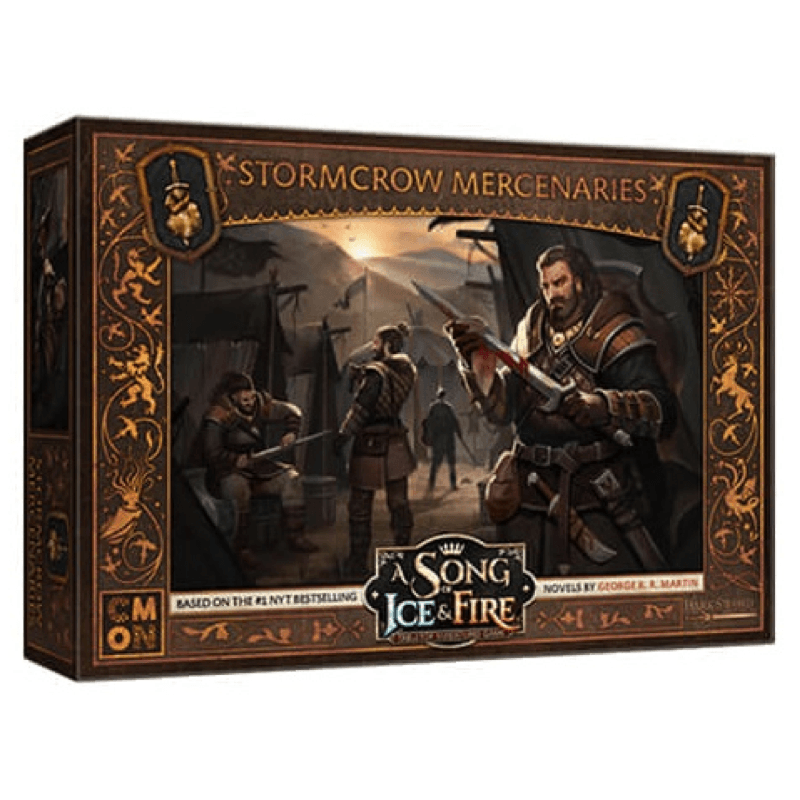 A Song of Ice & Fire: Tabletop Miniatures Game – Stormcrow Mercenaries Unit Box