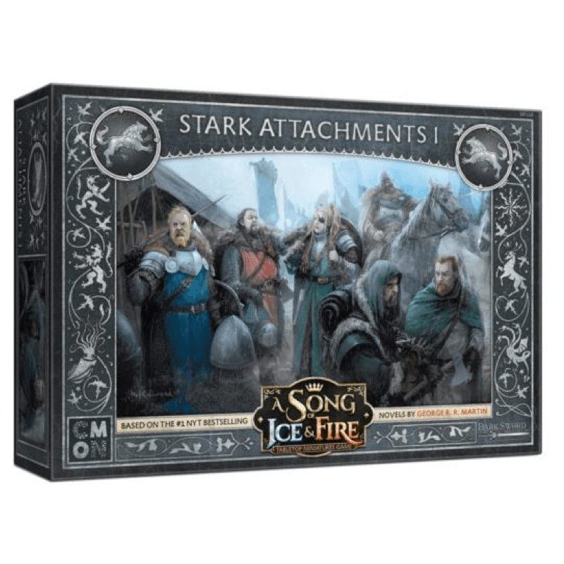 A Song of Ice & Fire: Tabletop Miniatures Game – Stark Unit Attachments