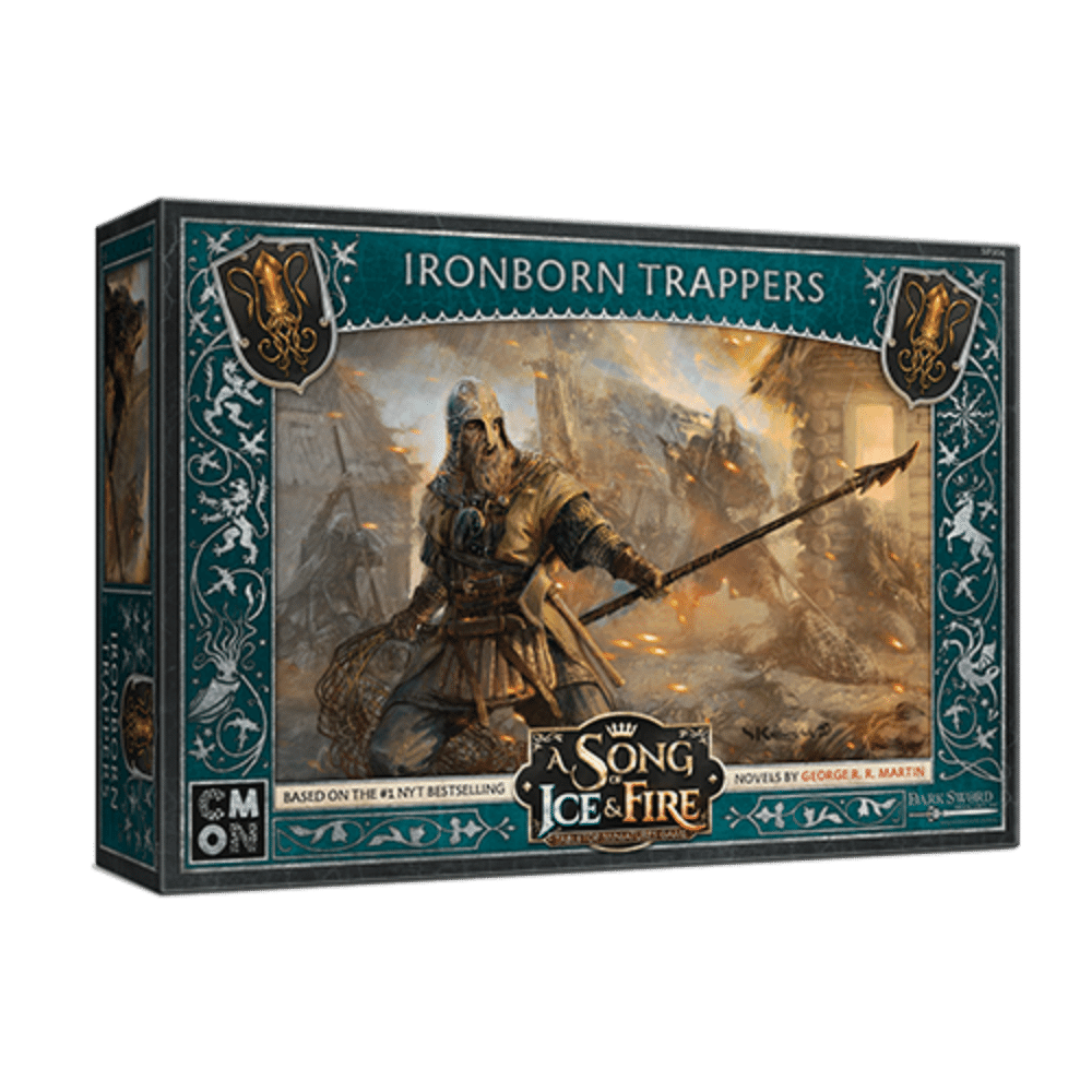A Song of Ice & Fire: Greyjoy Ironborn Trappers (PRE-ORDER)