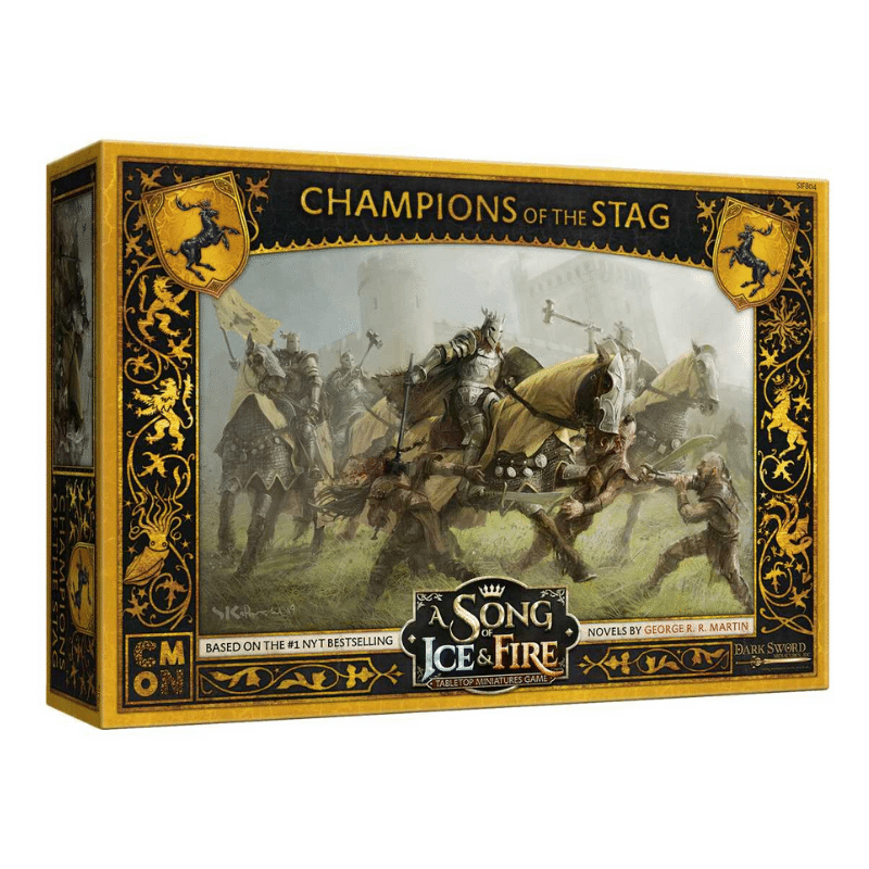 A Song of Ice & Fire: Tabletop Miniatures Game – Baratheon Champions of the Stag