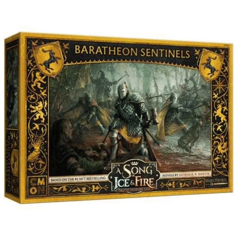 A Song of Ice & Fire: Tabletop Miniatures Game – Baratheon Sentinels