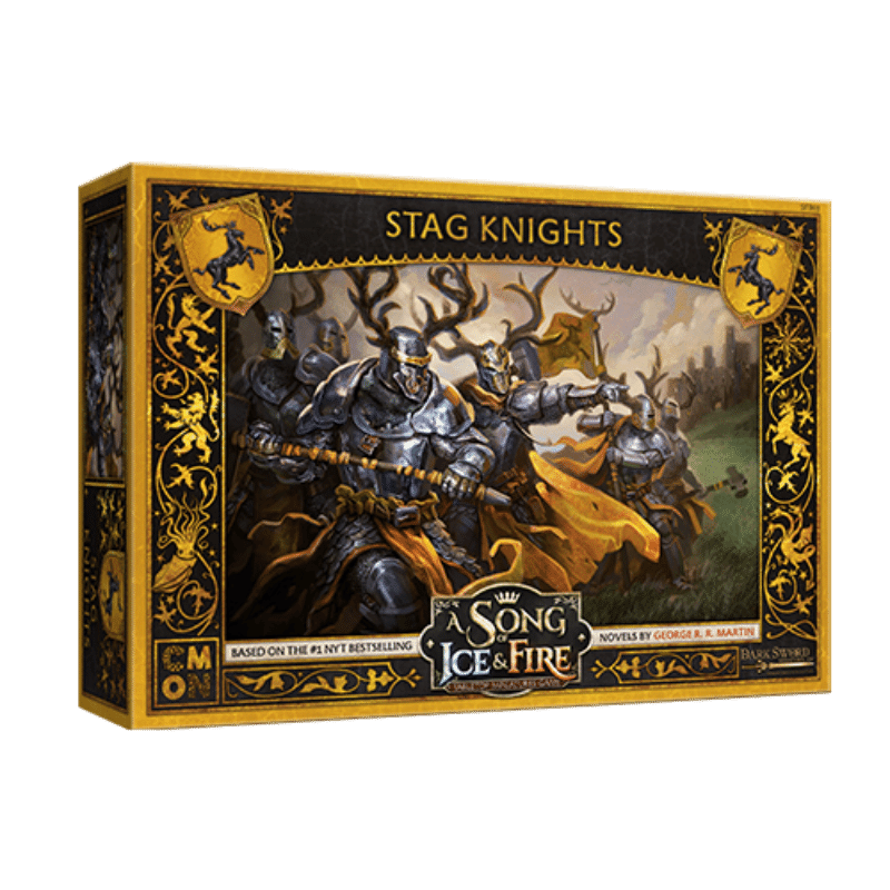 A Song of Ice & Fire: Tabletop Miniatures Game – Stag Knights Unit Box (PRE-ORDER)