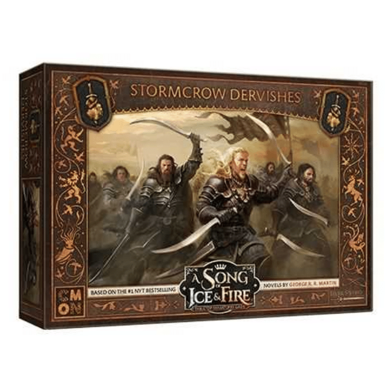 A Song of Ice & Fire: Tabletop Miniatures Game – Stormcrow Dervishes Unit Box (PRE-ORDER)