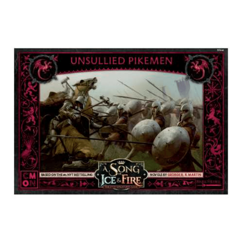 A Song of Ice & Fire: Tabletop Miniatures Game – Unsullied Pikemen Unit Box (PRE-ORDER)