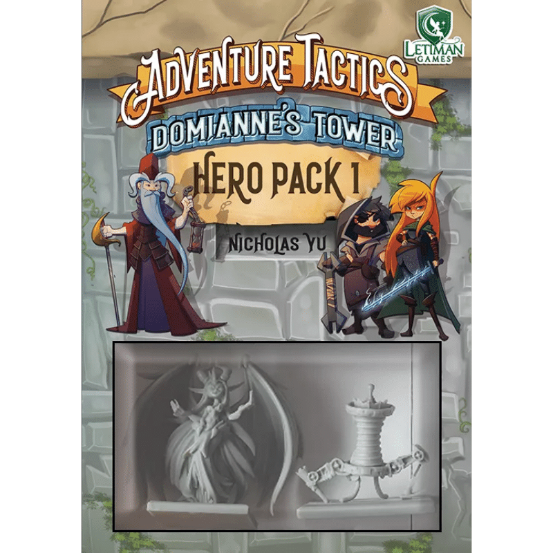 Adventure Tactics: Domianne's Tower – Hero Pack 1 (PRE-ORDER)