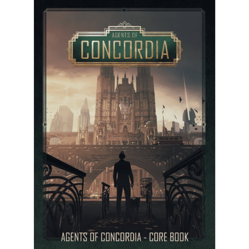 Agents of Concordia: Core Book