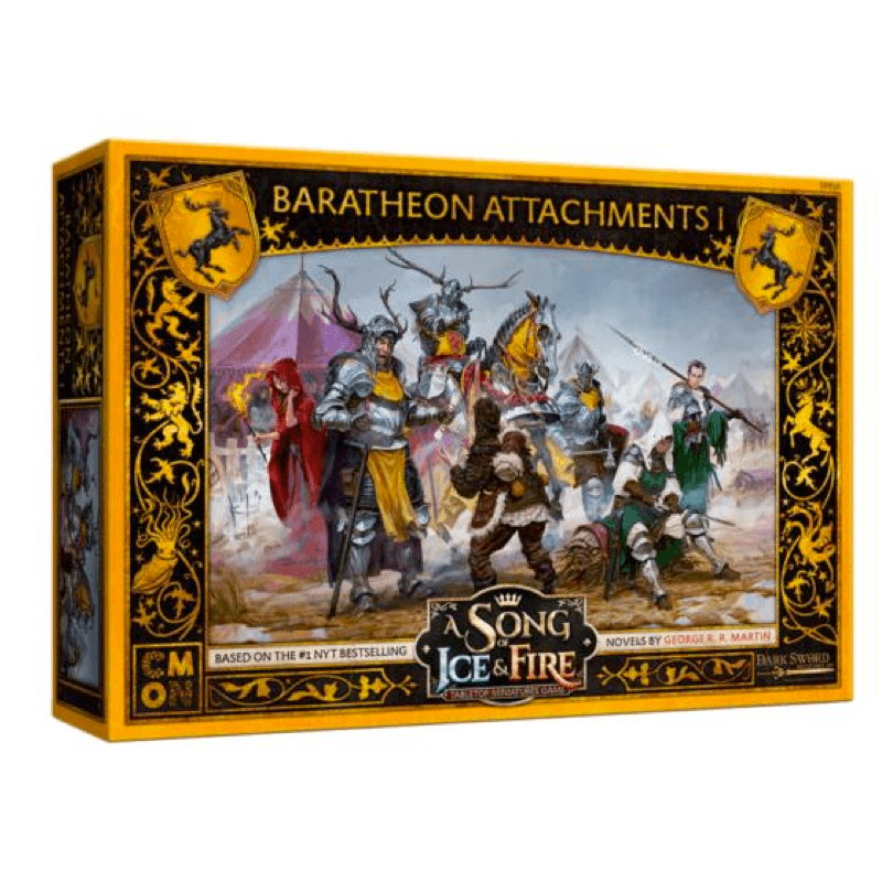 A Song of Ice & Fire: Tabletop Miniatures Game – Baratheon Attachments