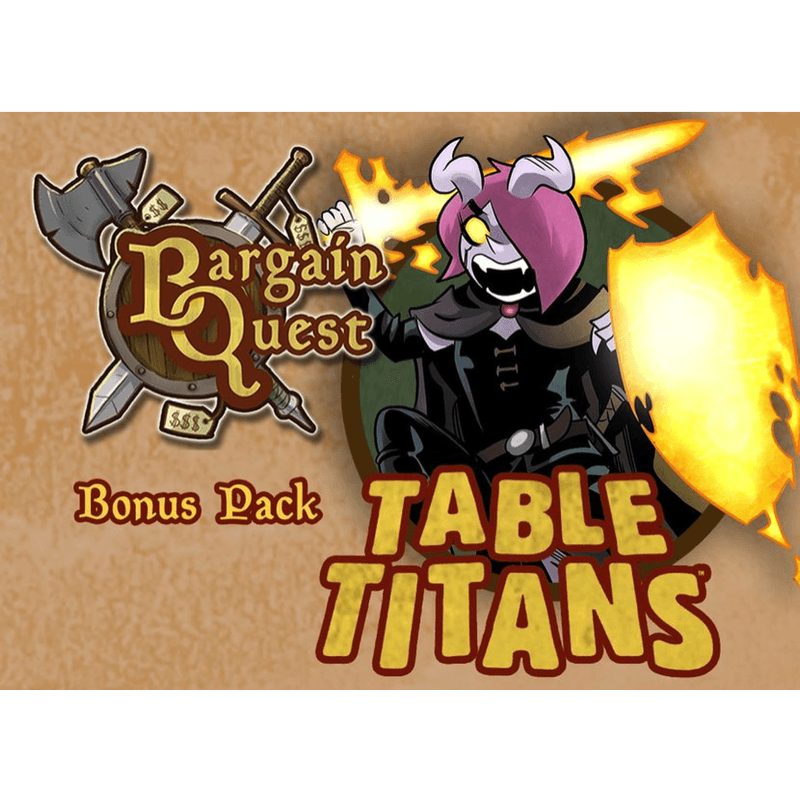Bargain Quest: Table Titans Bonus Pack