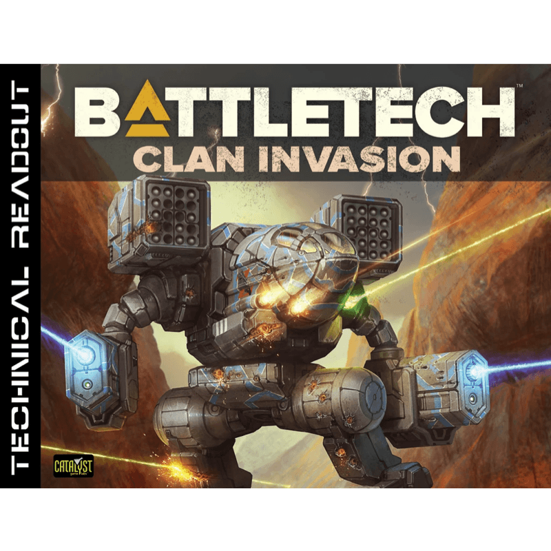 Battletech: Technical Readout – Clan Invasion