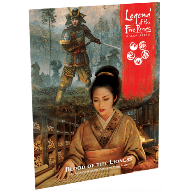 Legend of the Five Rings Roleplaying Game: Blood of Lioness (PRE-ORDER)