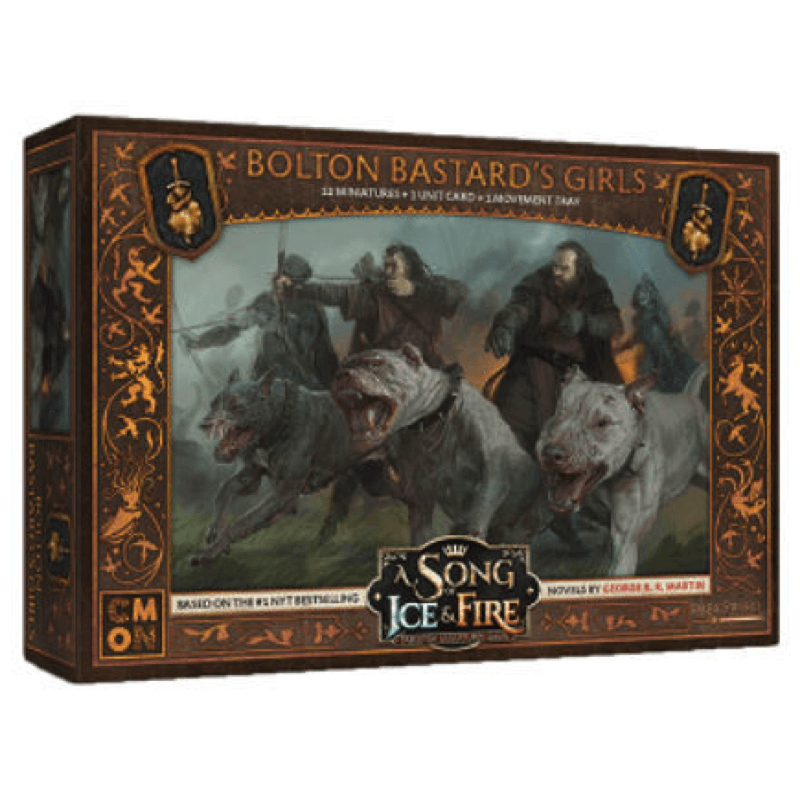 A Song of Ice & Fire: Tabletop Miniatures Game – Bolton Bastard's Girls Unit