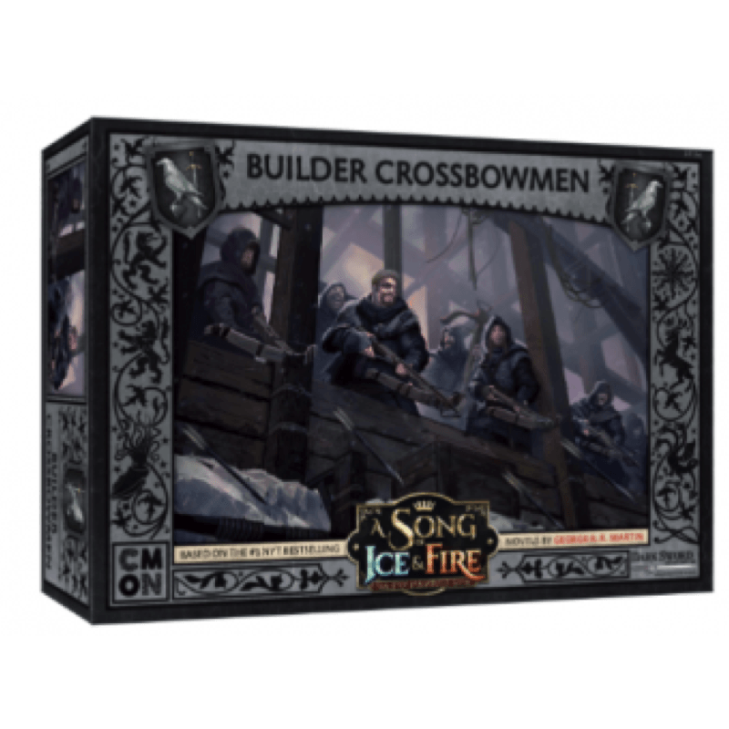 A Song of Ice & Fire: Tabletop Miniatures Game – Night's Watch Builder Crossbowmen
