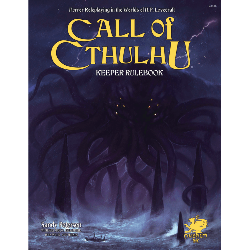 Call of Cthulhu (7th Edition): Keeper Rulebook