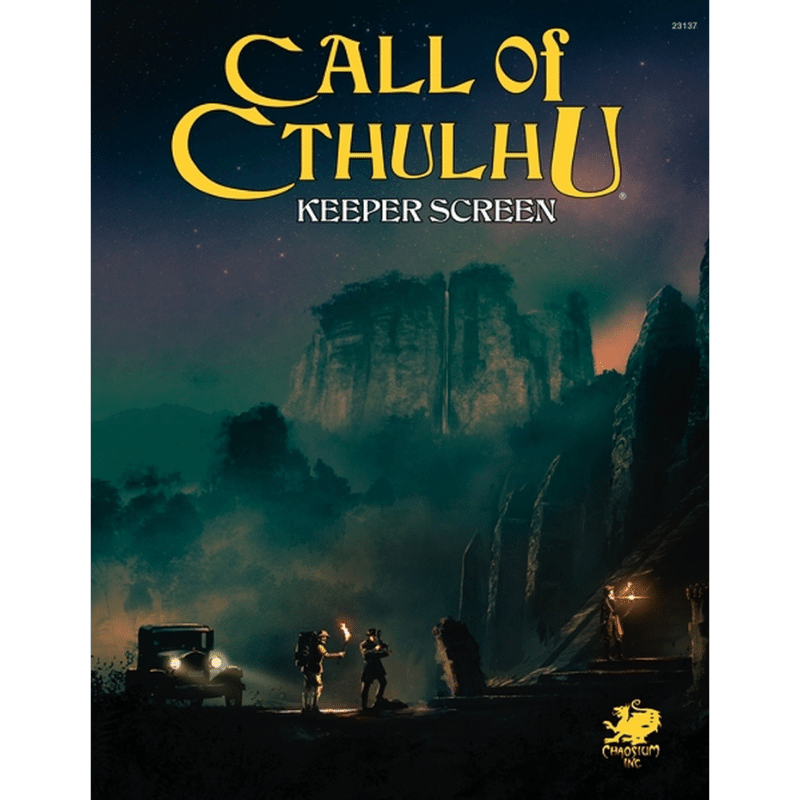 Call of Cthulhu (7th Edition): Keeper Screen