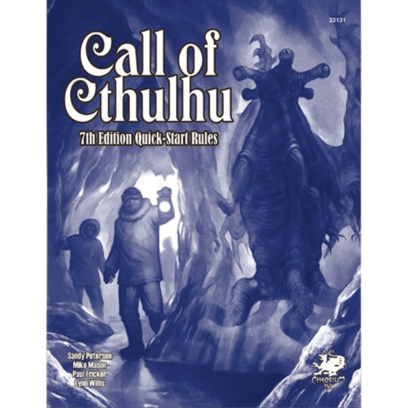 Call of Cthulhu (7th Edition): Quick Start Rules