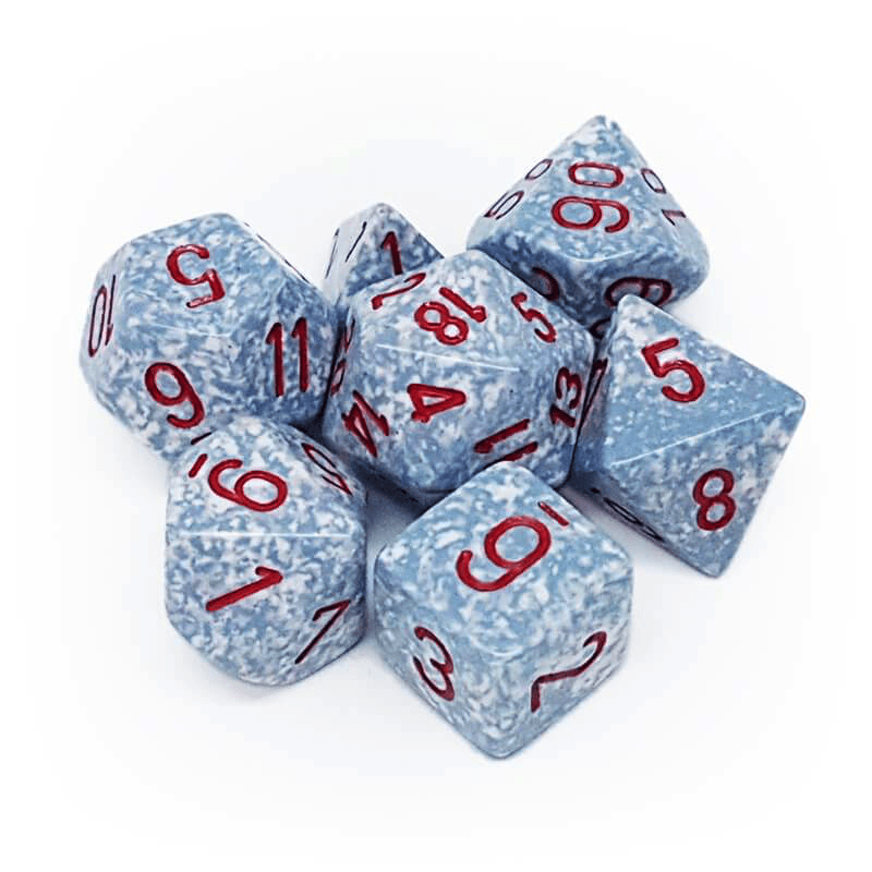 Chessex: Speckled 7 Polyhedral Dice Set - Air