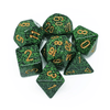 Chessex: Speckled 7 Polyhedral Dice Set - Golden Recon