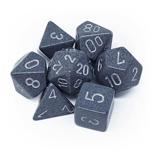 Chessex: Speckled 7 Polyhedral Dice Set - Hi-Tech