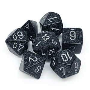 Chessex: Speckled 7 Polyhedral Dice Set - Ninja