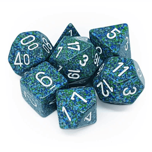 Chessex: Speckled 7 Polyhedral Dice Set - Sea