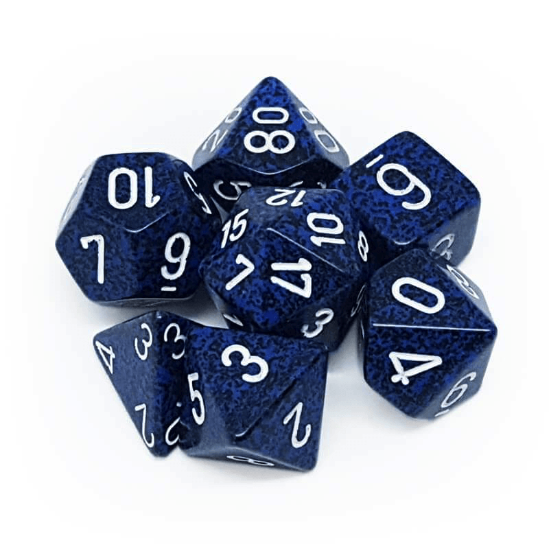 Chessex: Speckled 7 Polyhedral Dice Set - Stealth