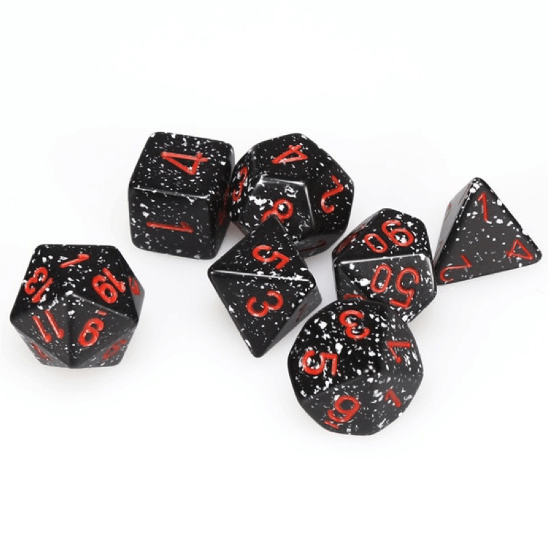 Chessex: Speckled 7 Polyhedral Dice Set - Space