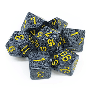 Chessex: Speckled 7 Polyhedral Dice Set - Urban Camo