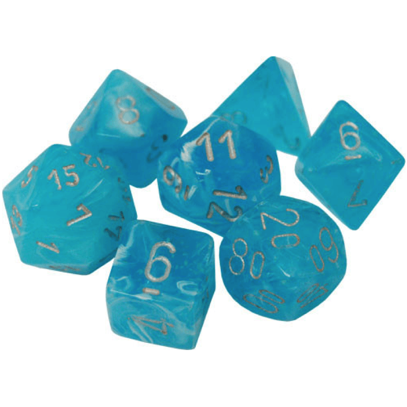Chessex: 7 Polyhedral Dice Set - Luminary Sky