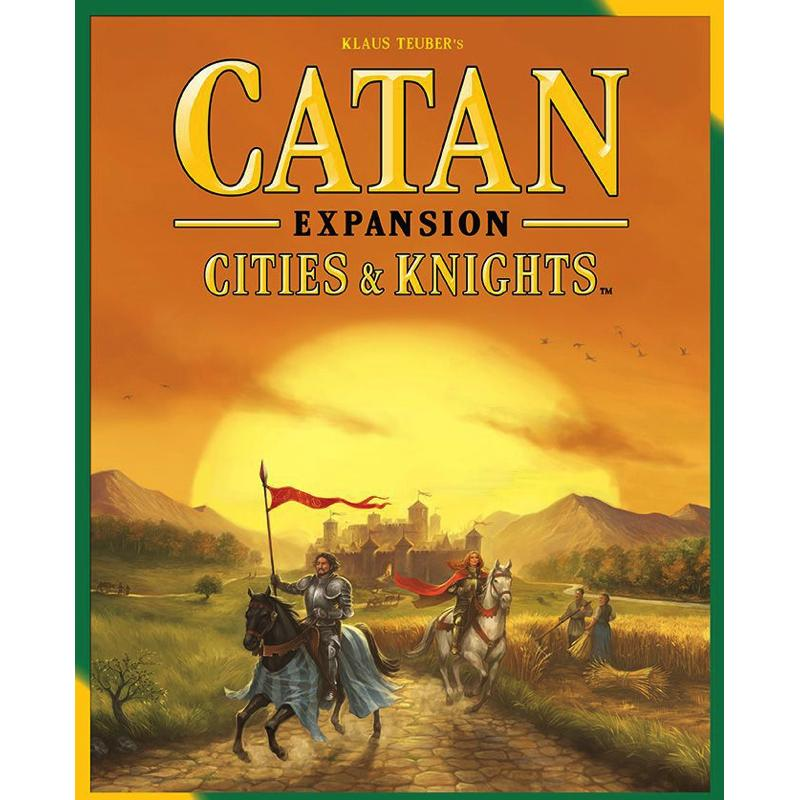 Catan (5th Edition): Cities & Knights Expansion - Thirsty Meeples