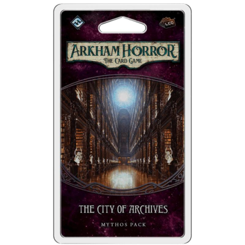 Arkham Horror: The Card Game – The City of Archives Mythos Pack