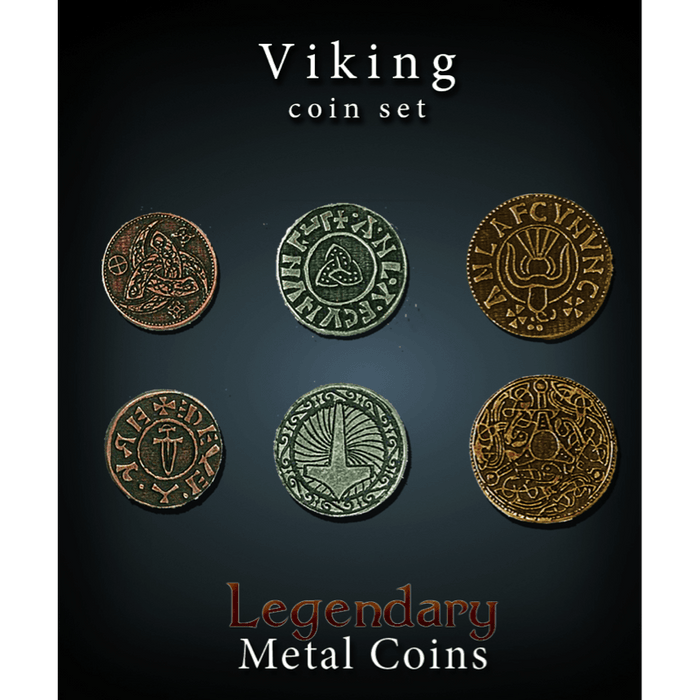 Legendary Metal Coins: Viking Set