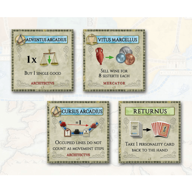 Concordia: 8 Forum Cards mini-expansion