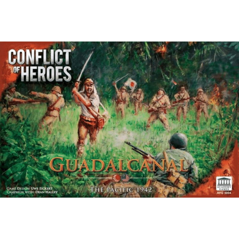 Conflict of Heroes: Guadalcanal – The Pacific 1942