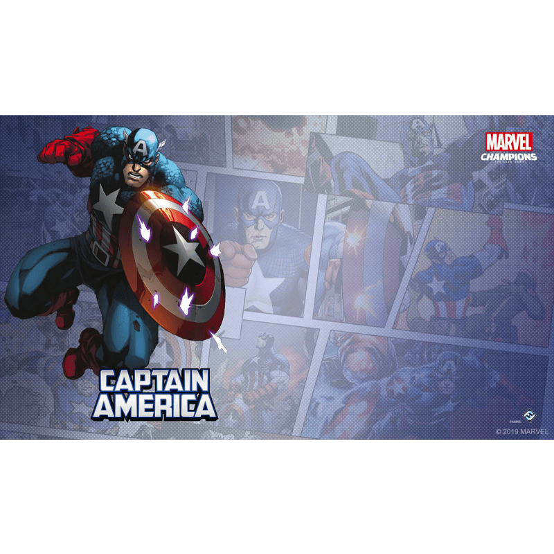 Marvel Champions: The Card Game – Captain America Game Mat